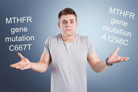 MTHFR Genes C677T vs A1298C