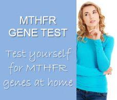 MTHFR gene mutation test